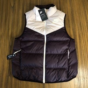 Nike reversible Down Fill puffer vest
